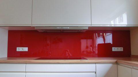 Kuchenruckwand Braun Glas Spiegelstudio
