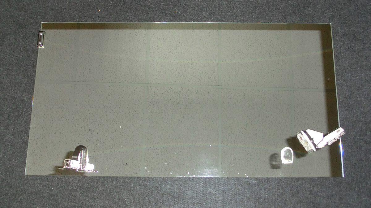 T rband auf spiegelt r kleben pfower braun glas - Glasduschwand reinigen ...