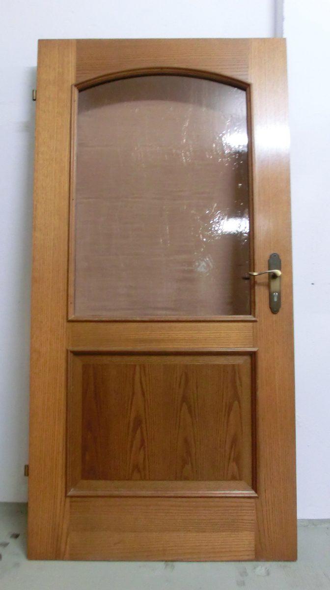 Berühmt Holztür mit Glaseinsatz PFOWER – BRAUN Glas & Spiegelstudio QN82